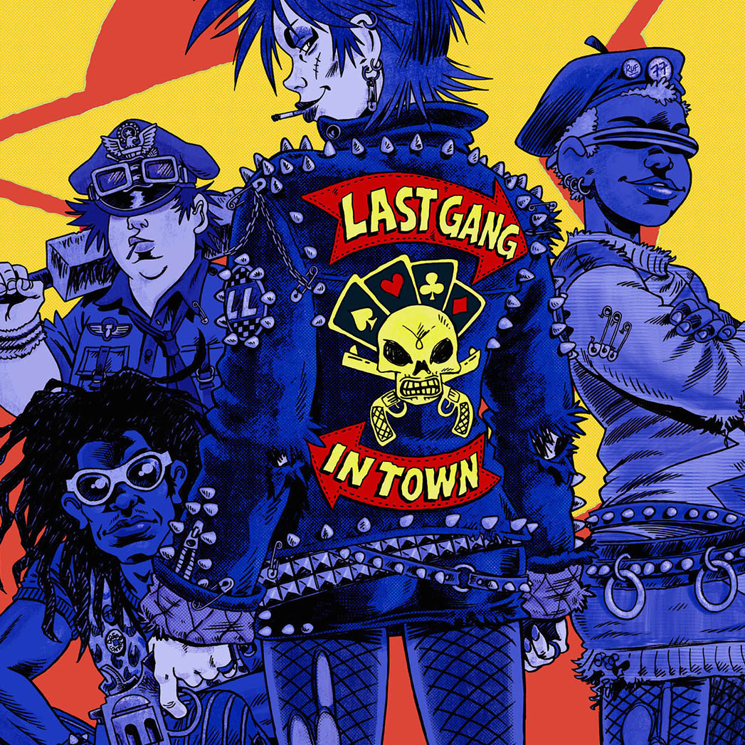 Last Gang in Town Promo - S 2015