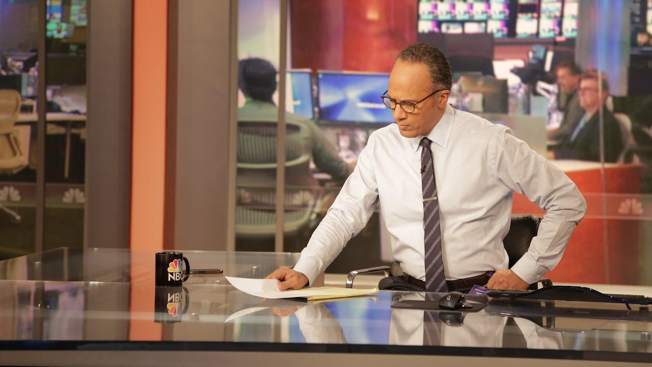 Lester Holt at the desk 2015
