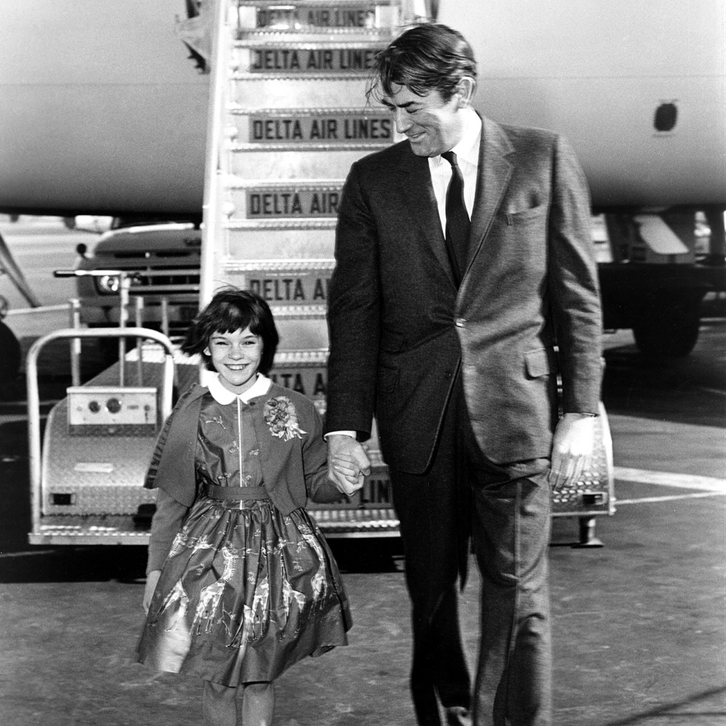 Mary Badham Gregory Peck - S 2015