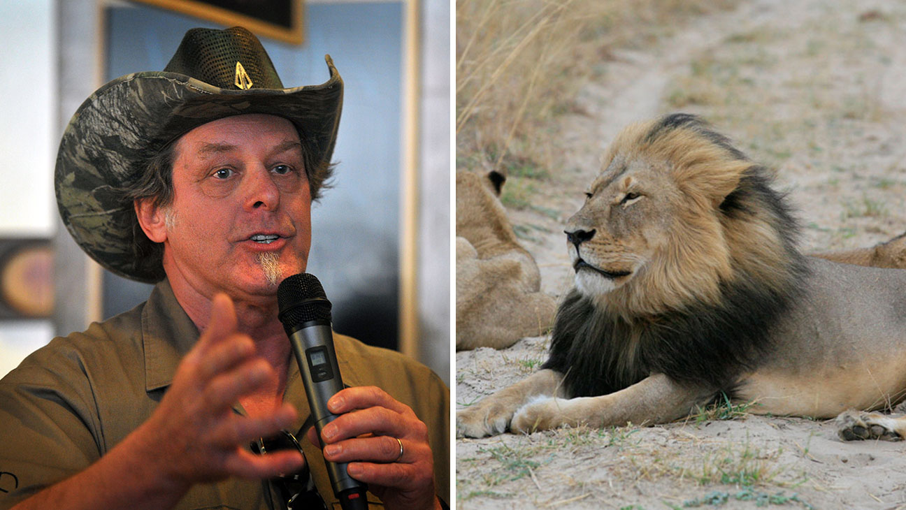 Ted Nugent, Cecil the Lion Split - H 2015