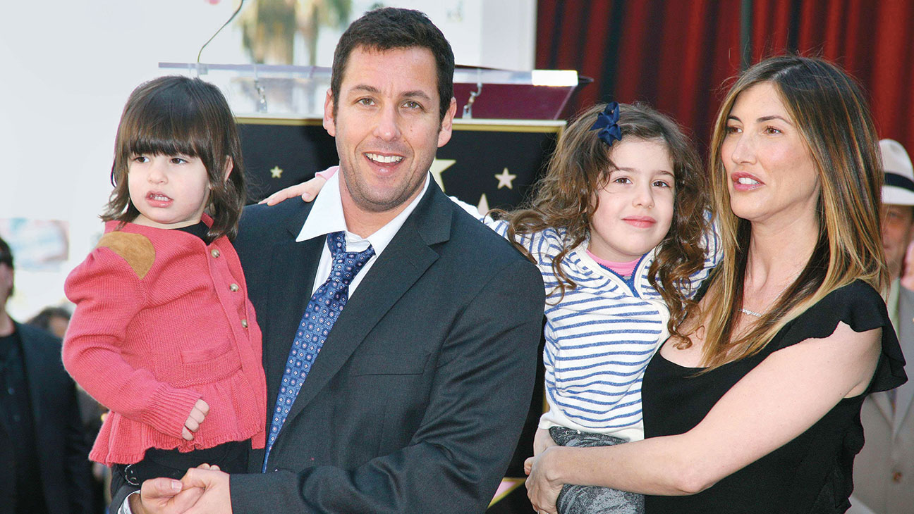 Adam Sandler and Family, Pixels Premiere - H 2015