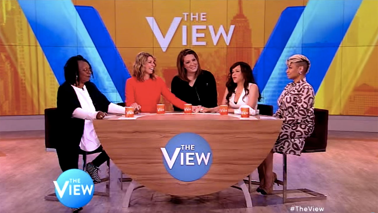 The View, Michelle Collins, Still - H 2015