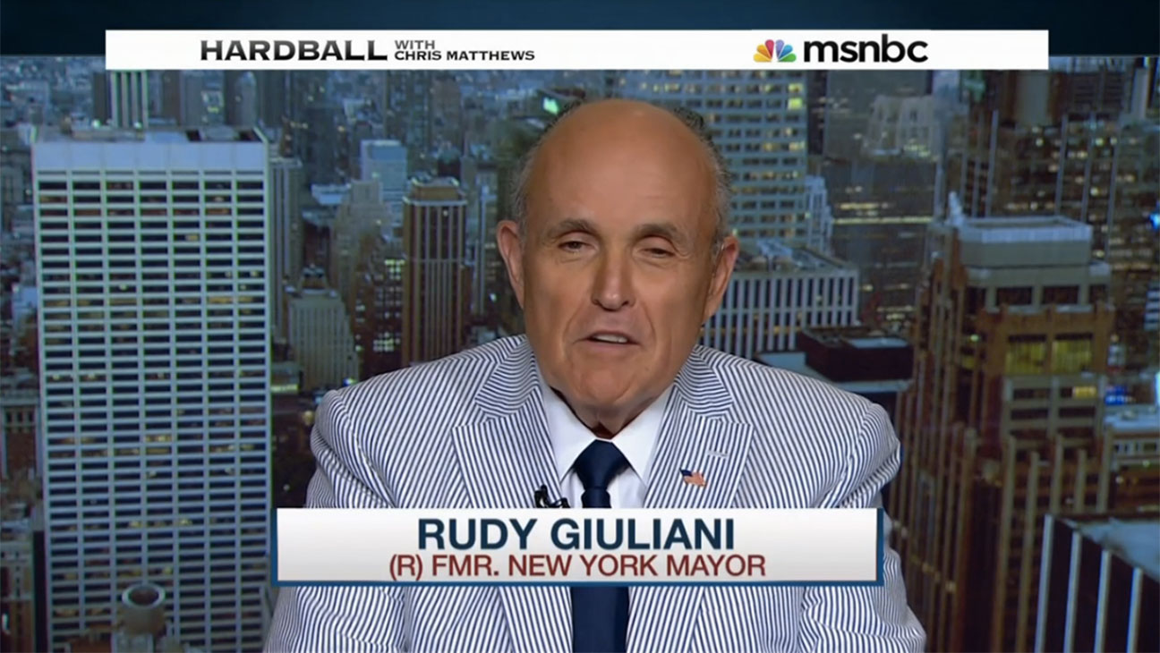 Rudy Giuliani, Hardball Still - H 2015