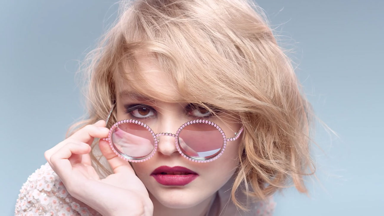 Lily-Rose Depp, Chanel Ad - H 2015