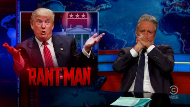 Donald Trump Daily Show - H 2015