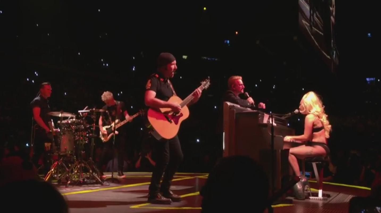 Lady Gaga and U2 - H 2015