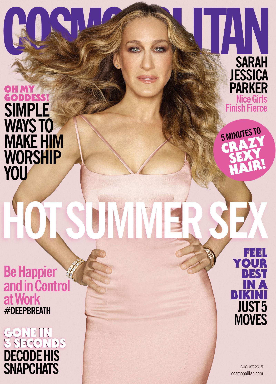 Sarah Jessica Parker, Cosmopolitan Cover - P 2015