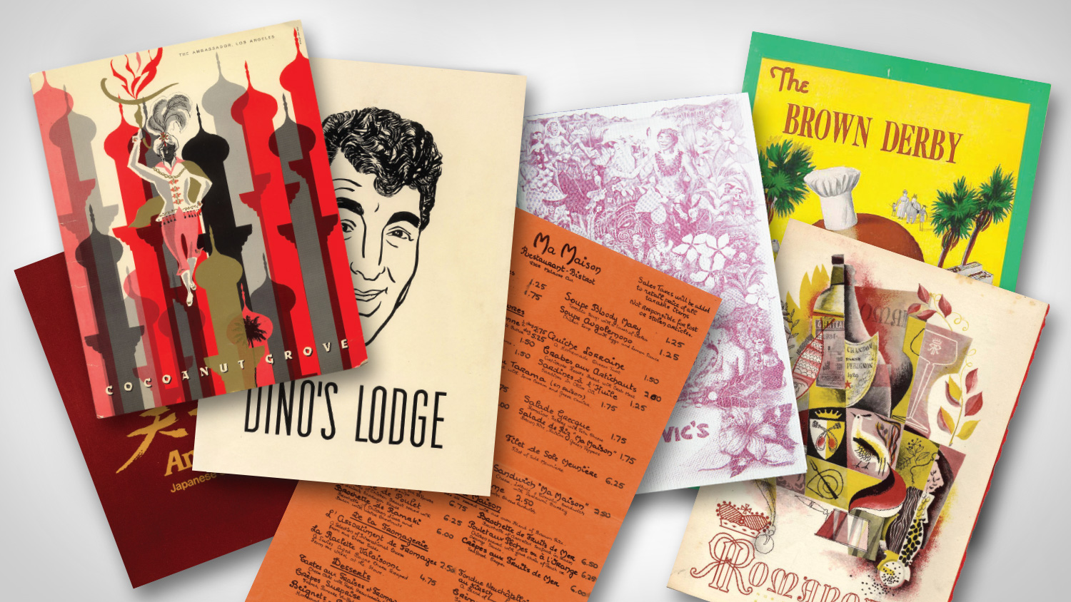 If These Menus Could Talk: The History of L.A. Power Dining Revealed