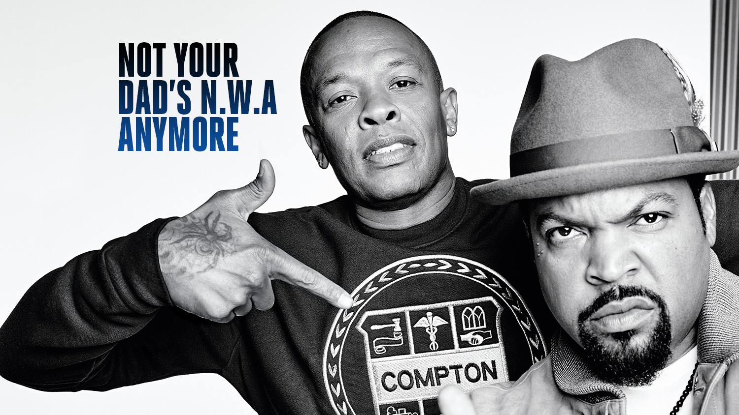 Dr. Dre, Ice Cube Break Silence on N.W.A Movie, Suge Knight's Murder Charge and a Reunion Tour (With Eminem)
