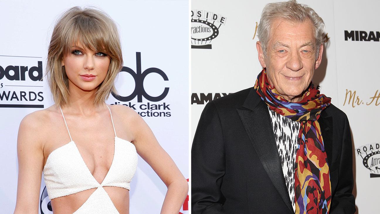 Taylor Swift ian mckellen Split - H 2015