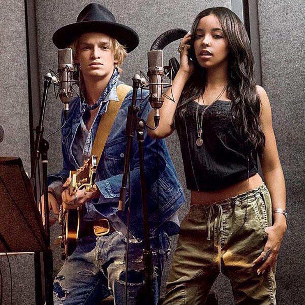 Cody Simpson, Tinashe Ralph Lauren Instagram - S 2015
