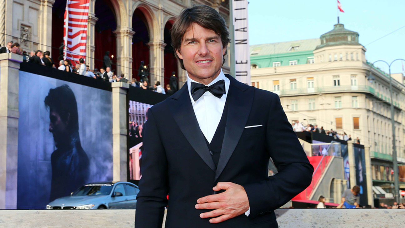 Tom Cruise, Mission Impossible Premiere Vienna - H 2015