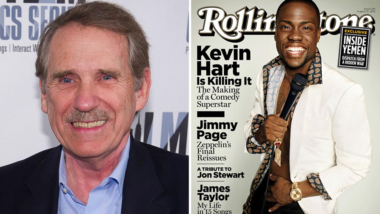 Peter Travers, Kevin Hart Rollingstone Cover Split - H 2015