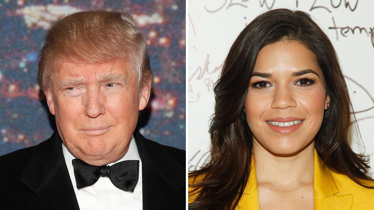 Trump, Ferrera Split - H 2015
