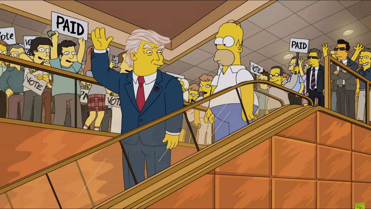 The Simpsons Trump - H 2015