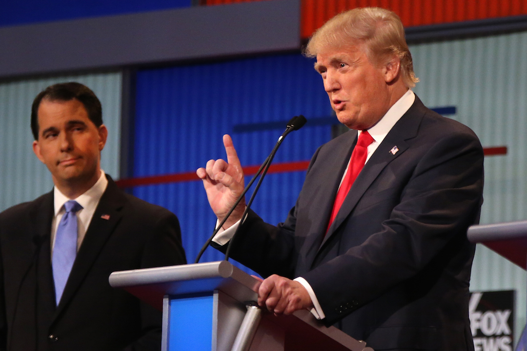 Donald Trump GOP Debate 2 H 2015