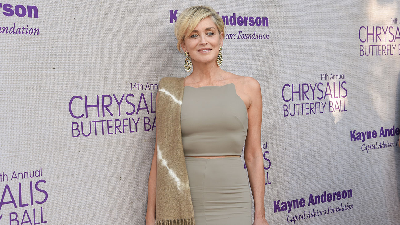 Sharon Stone at Chrysalis Butterfly Ball - H 2015
