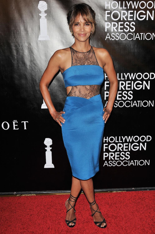 Halle Berry HFPA Banquet P 2015
