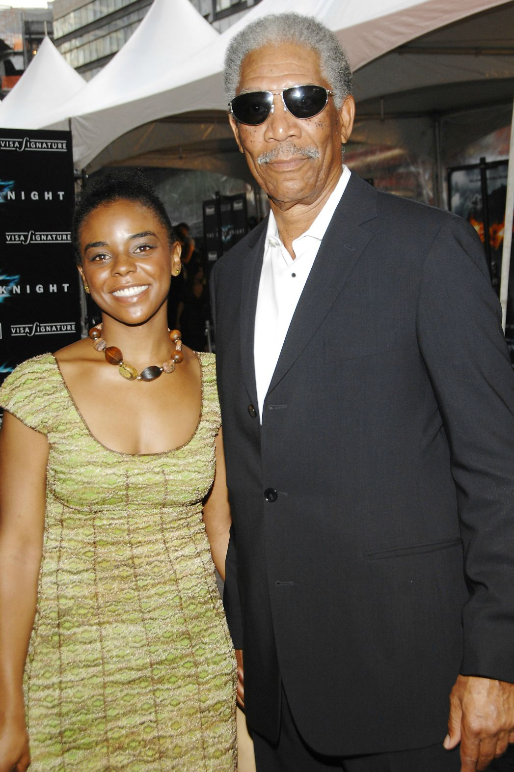 E'Dena Hines Morgan Freeman - P 2015