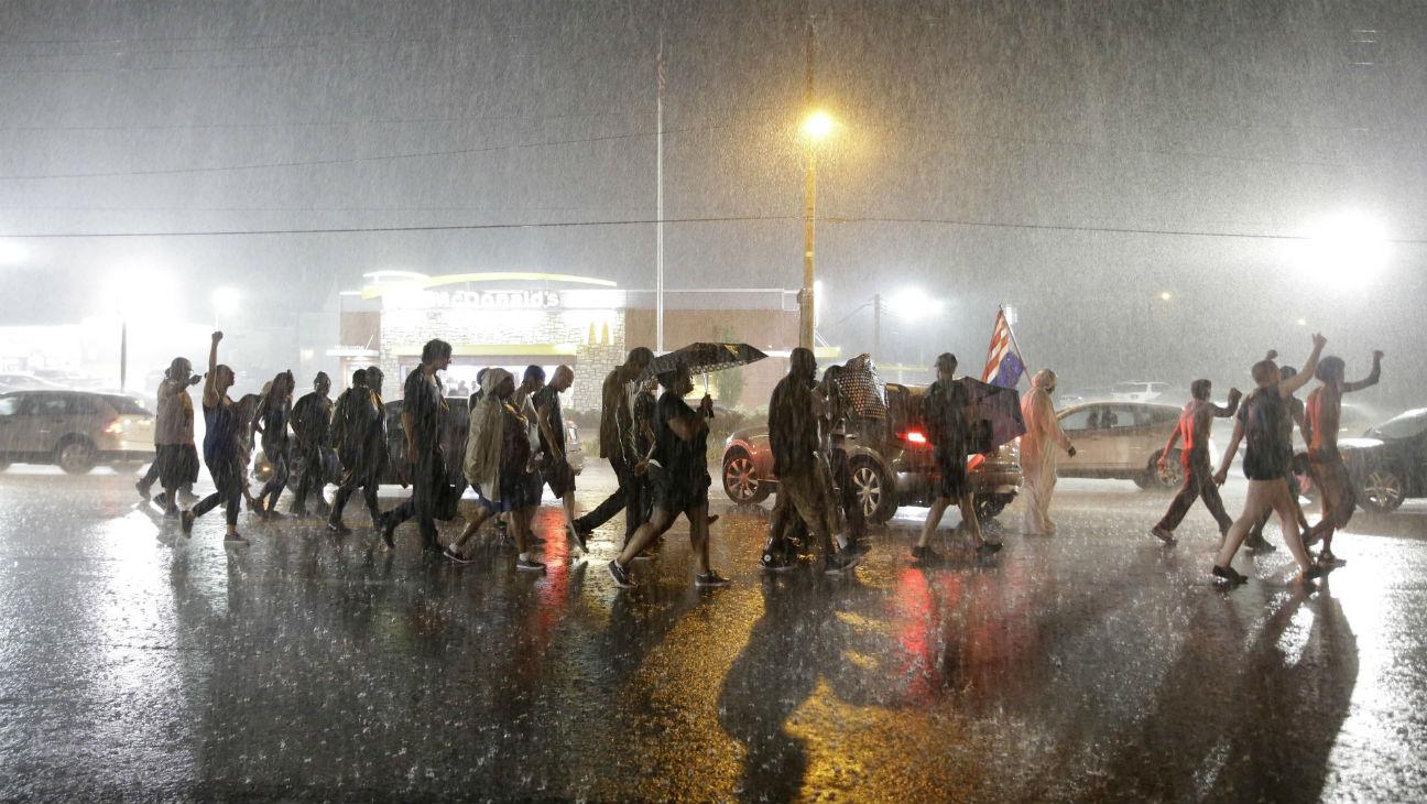 Ferguson Protest H - 2015