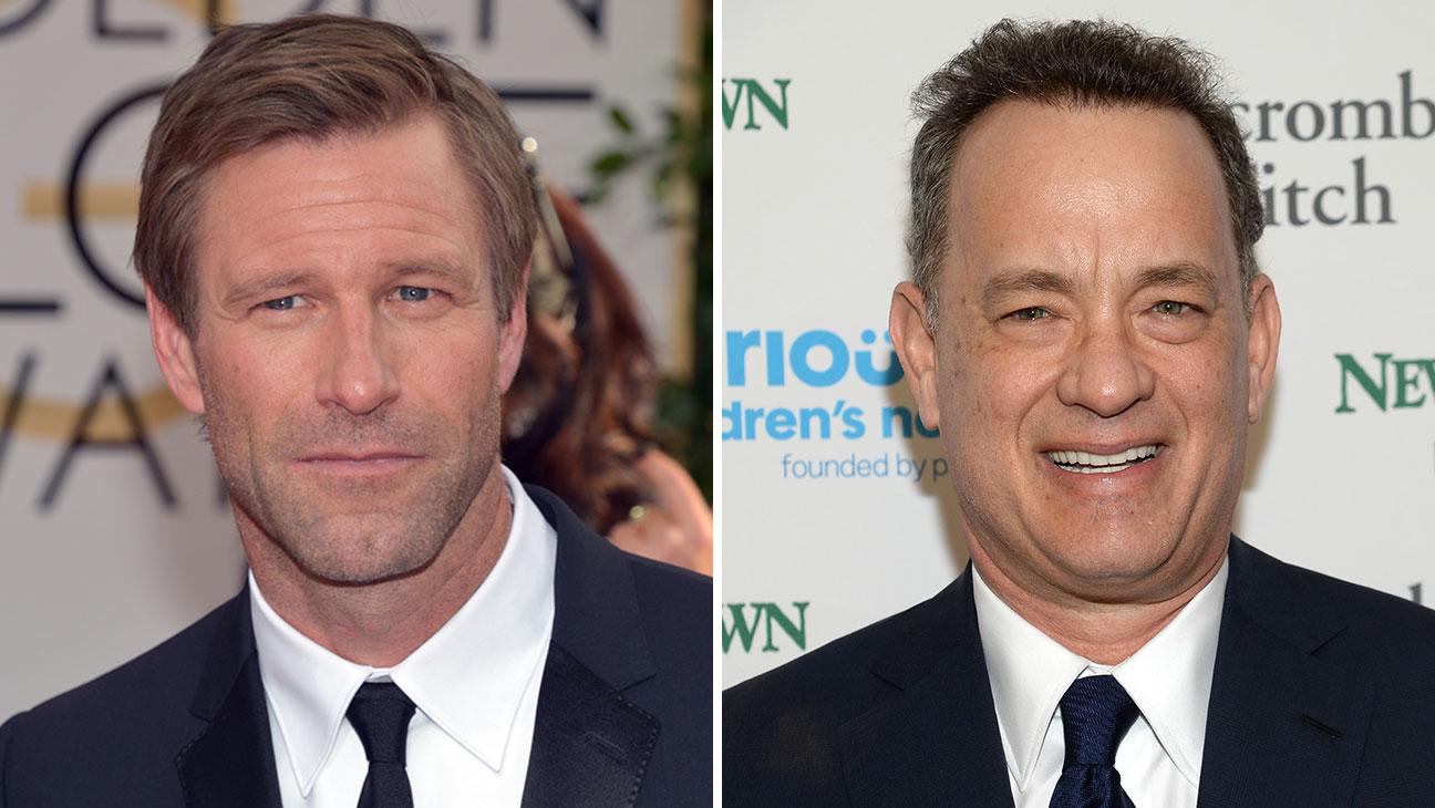 Aaron Eckhart, Tom Hanks Split – H 2015