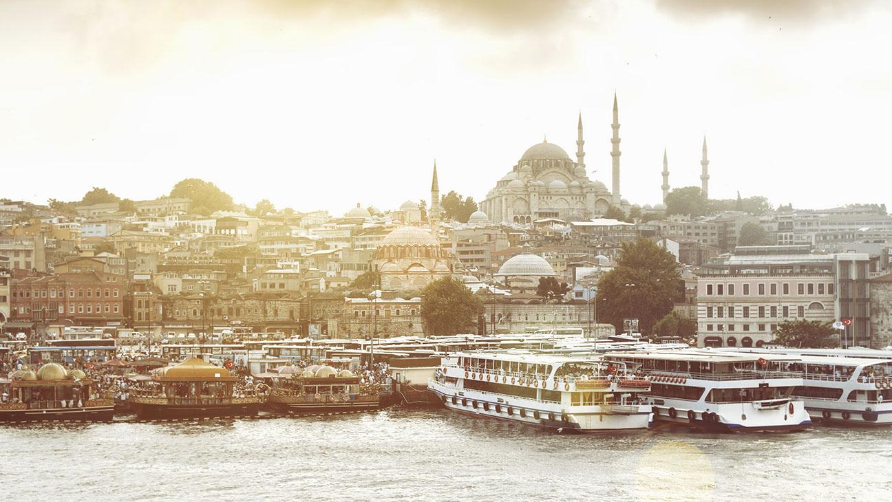 Istanbul Skyline - H 2015