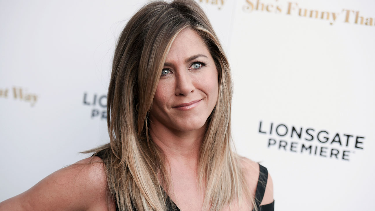 Jennifer Aniston, She's Funny that Way Premiere - H 2015