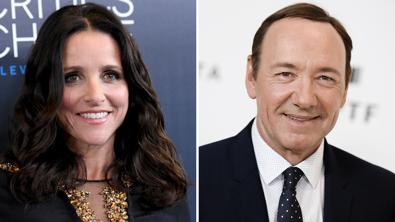 Julia Louis-Dreyfus Kevin Spacey Split - H 2015