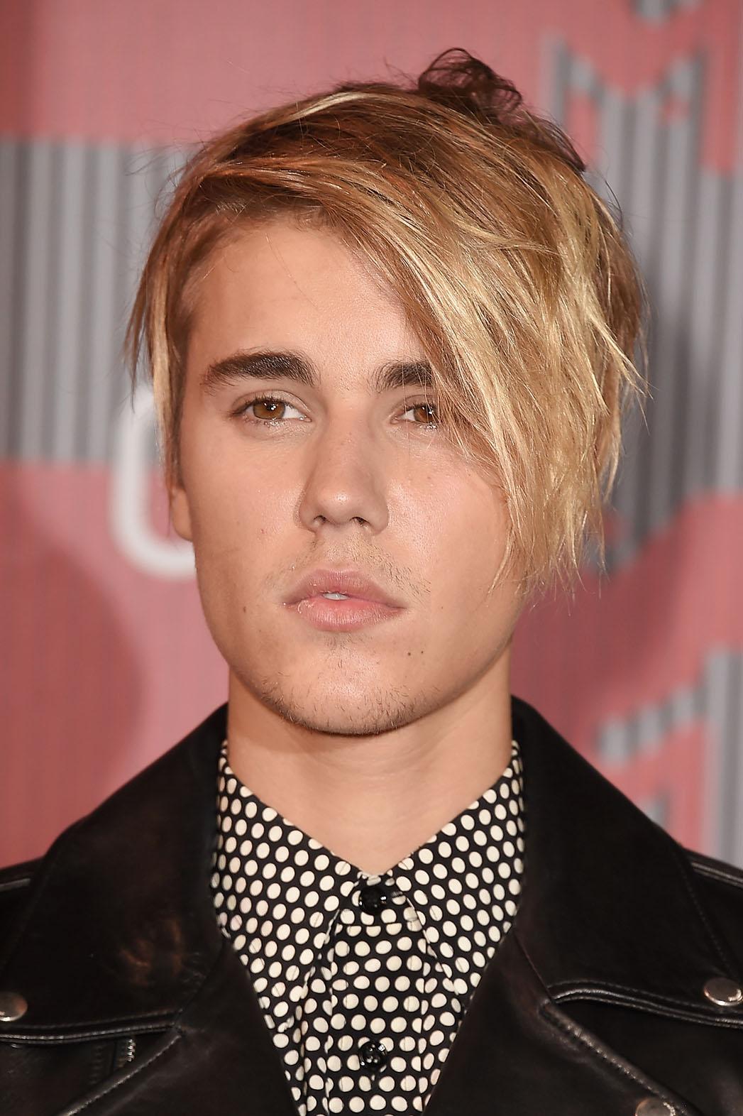 Justin Bieber's Hair VMAs NO BLAST - P 2015
