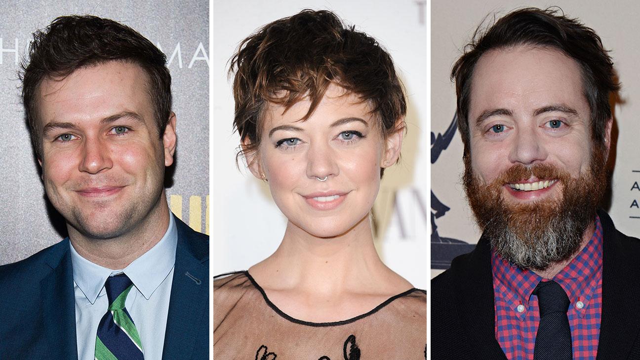 Jon Daly, Taran Killam, Analeigh Tipton Split - H 2015