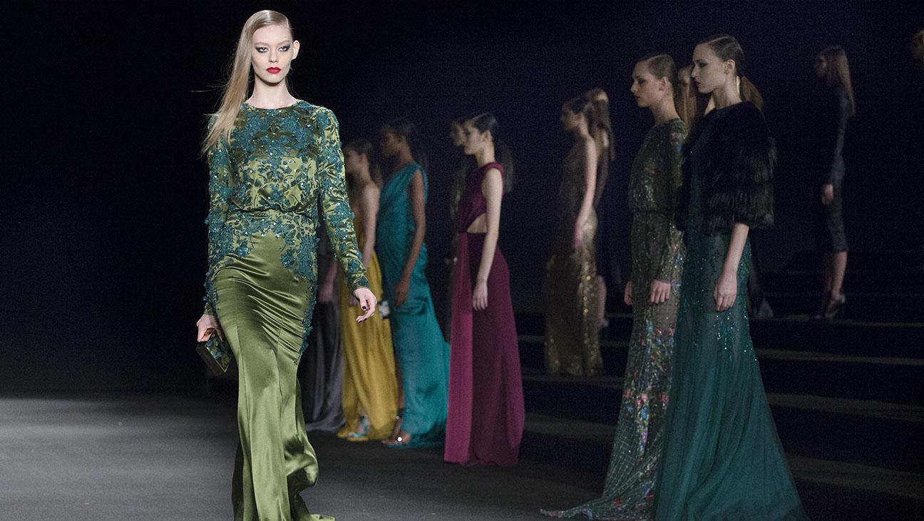 Monique Lhuillier New York Fashion Week - H 2015