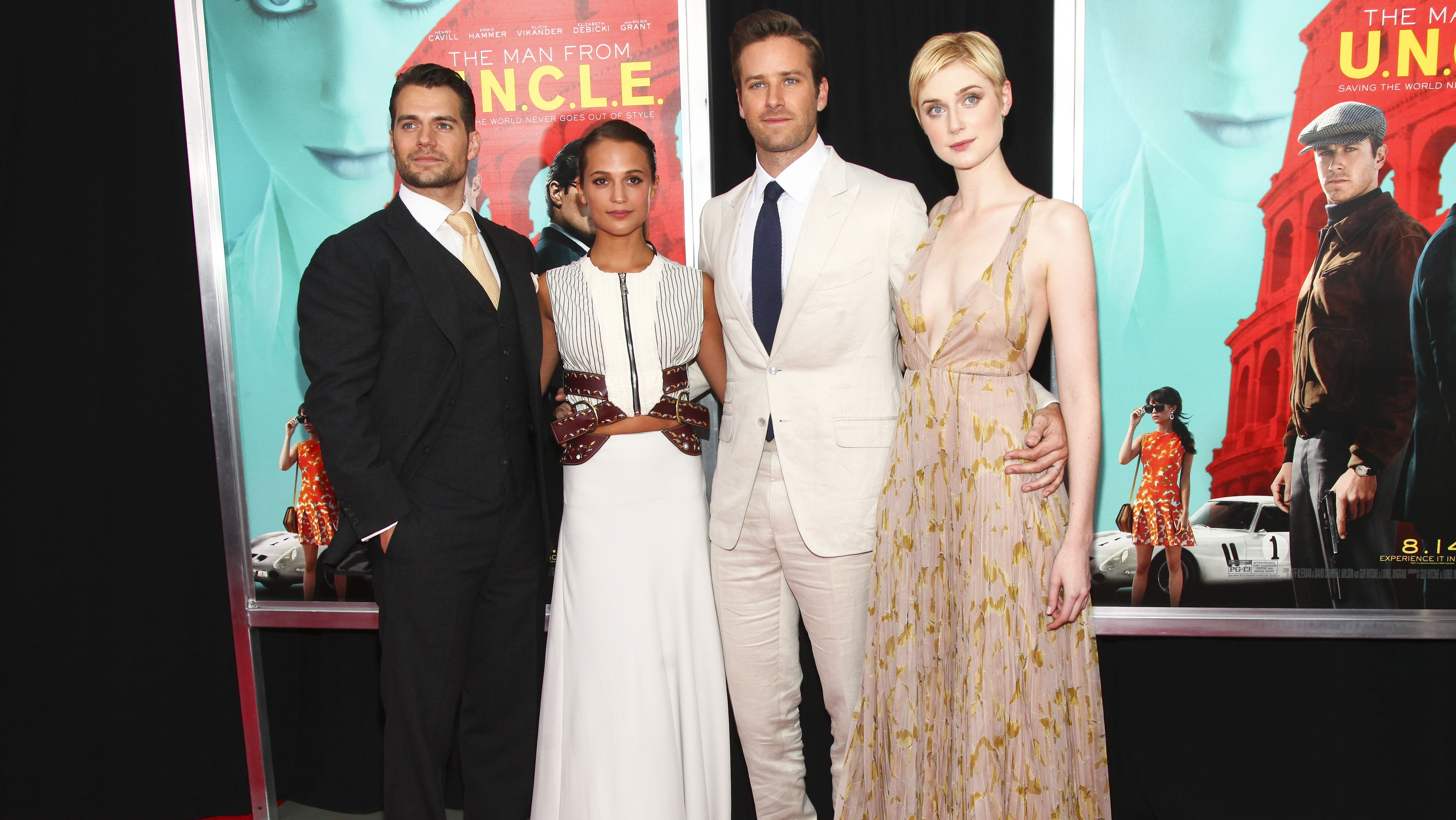 Man From U N C L E Premiere Guy Ritchie Henry Cavill And Alicia Vikander Talk Creating Own Version Of Tv Series Hollywood Reporter