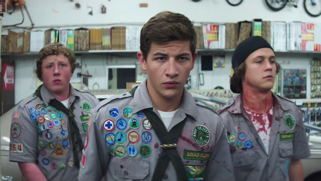 Scouts Guide to the Zombie Apocalypse Trailer Still - H 2015