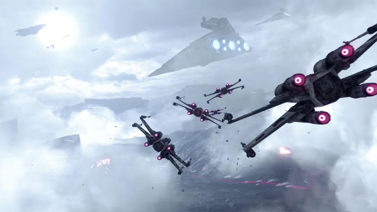 Star Wars Battlefront: Fighter Squadron Mode Gameplay Trailer - H 2015