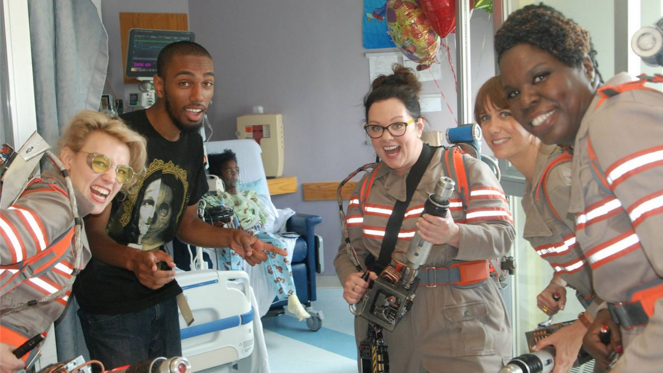 Ghostbusters Cast Tufts Medical Center - H 2015