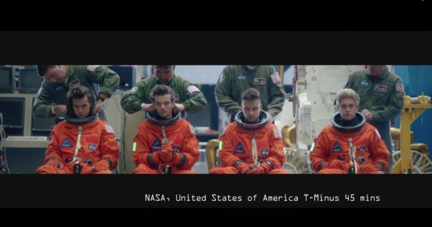 """One Direction in """"Drag Me Down"""" Video - H 2015"""