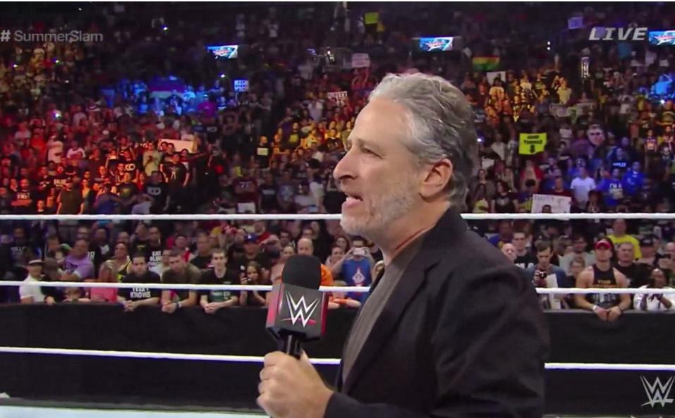 Jon Stewart WWE H 2015