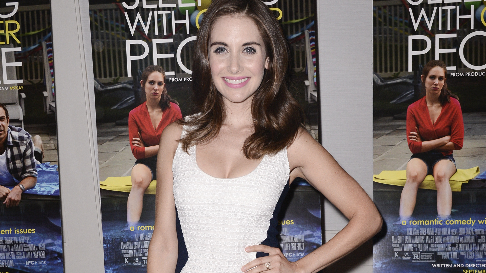 Alison Brie at 'Sleeping With Other People' L.A. Screening - H 2015