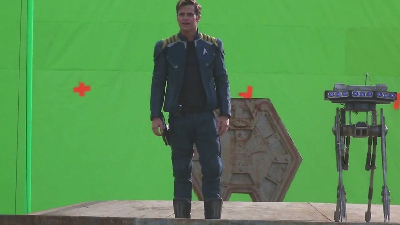 Star Trek Beyond Footage Chris Pine - H 2015