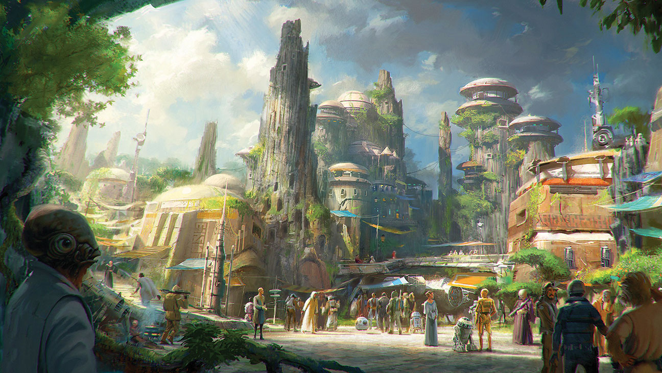 Star Wars Land Concept Art - H 2015