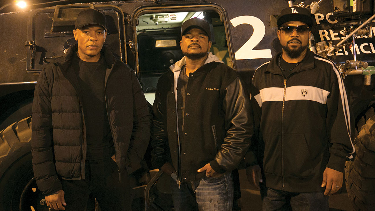 Straight Outta Compton BTS - H 2015