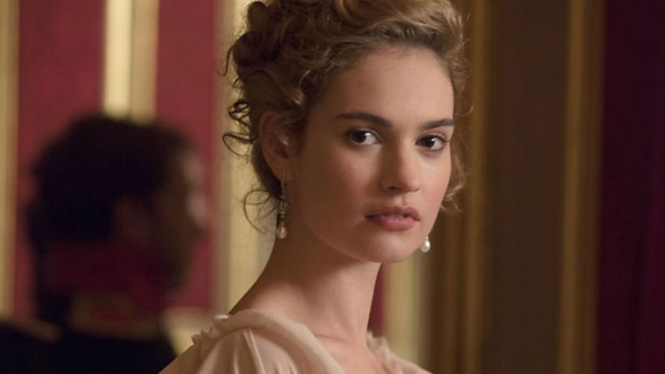 War and Peace Lily James - H 2015