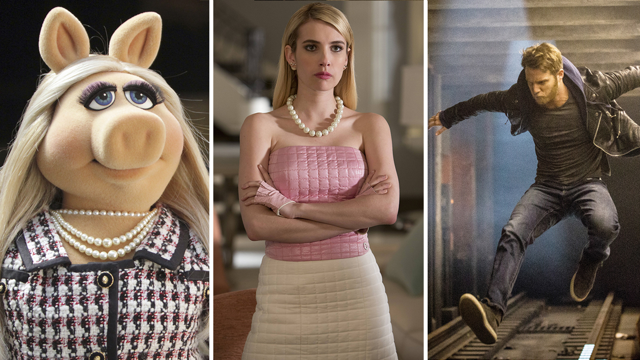 The Muppets,  Scream Queens, Limitless - H 2015