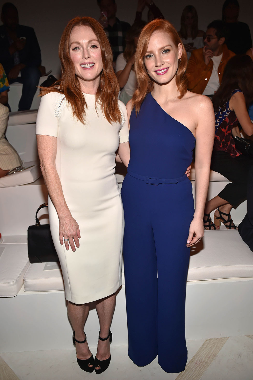 Julianne Moore and Jessica Chastain