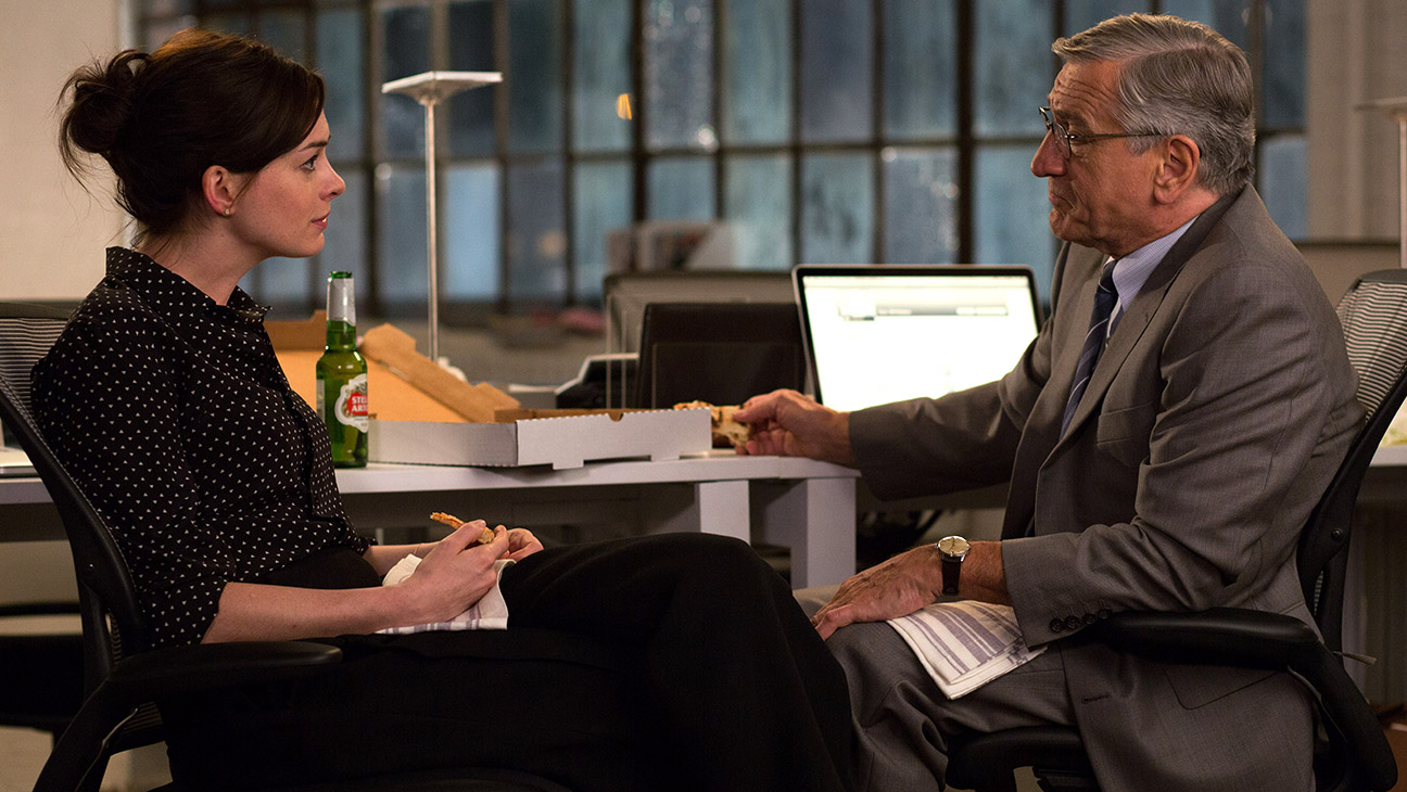 Anne Hathaway in The Intern Still - H 2015