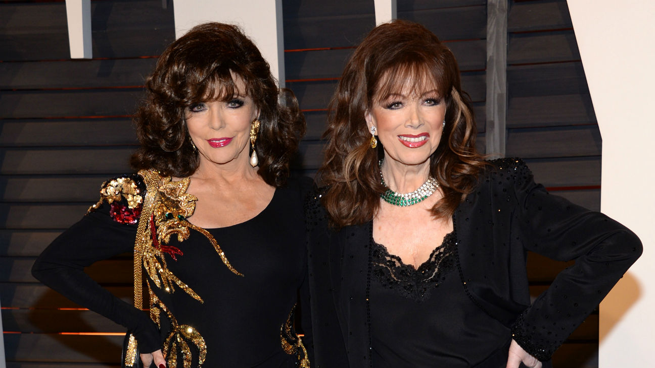 Joan and Jackie Collins H - 2015