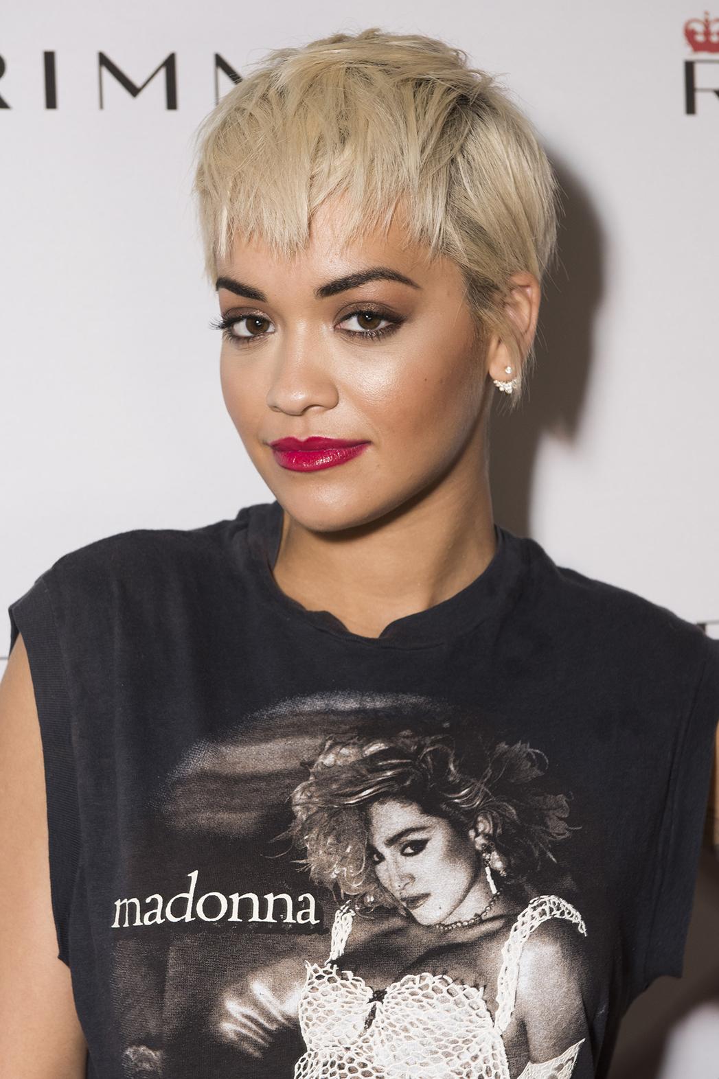 Rita Ora Chops Off Her Platinum Locks Hollywood Reporter