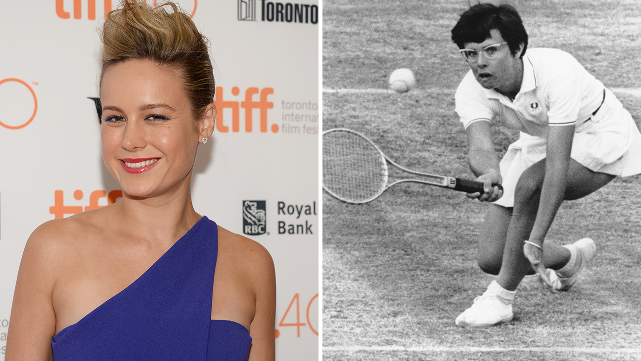 Brie Larson Billie jean King - split 2015