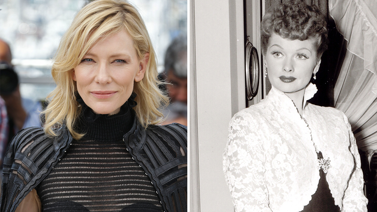 Cate Blanchette and Lucille Ball - Split 2015
