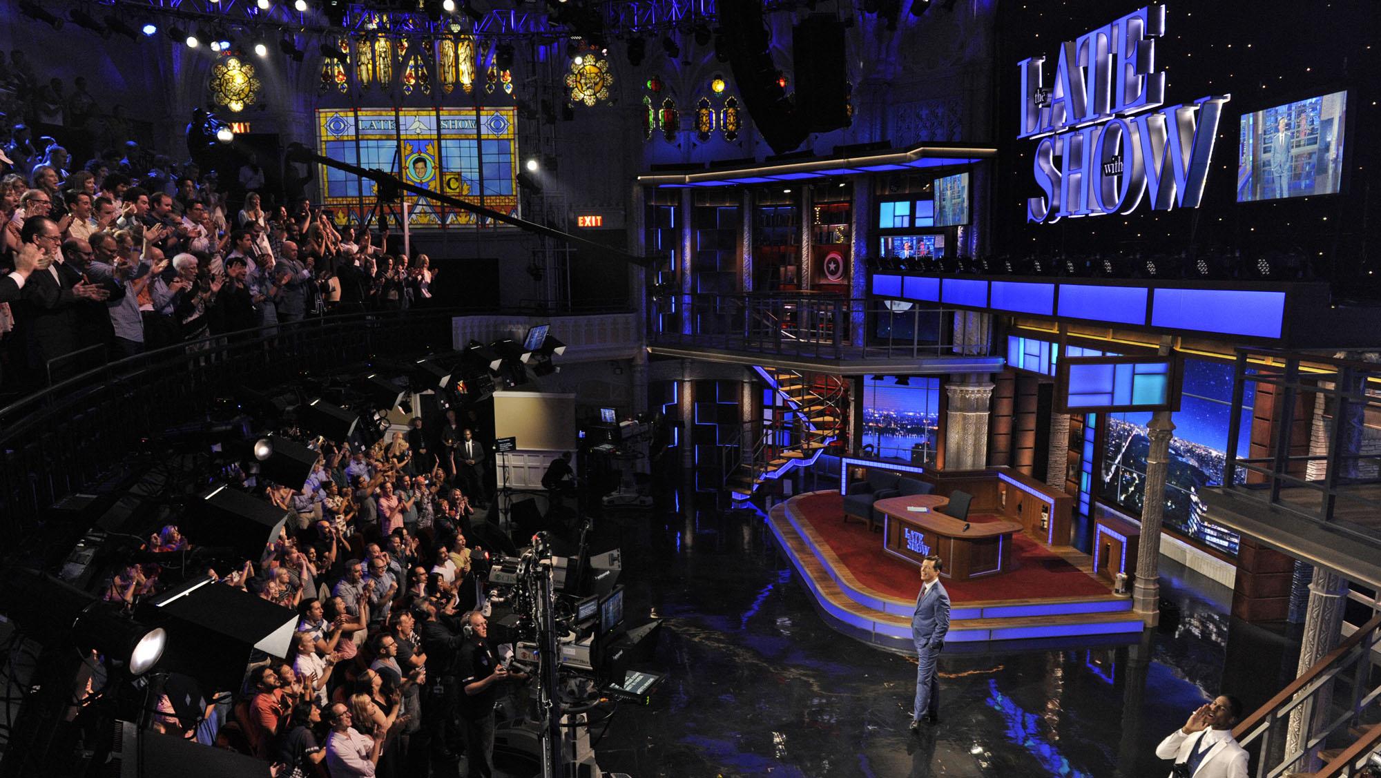 Stephen Colbert Late Show Premiere - H
